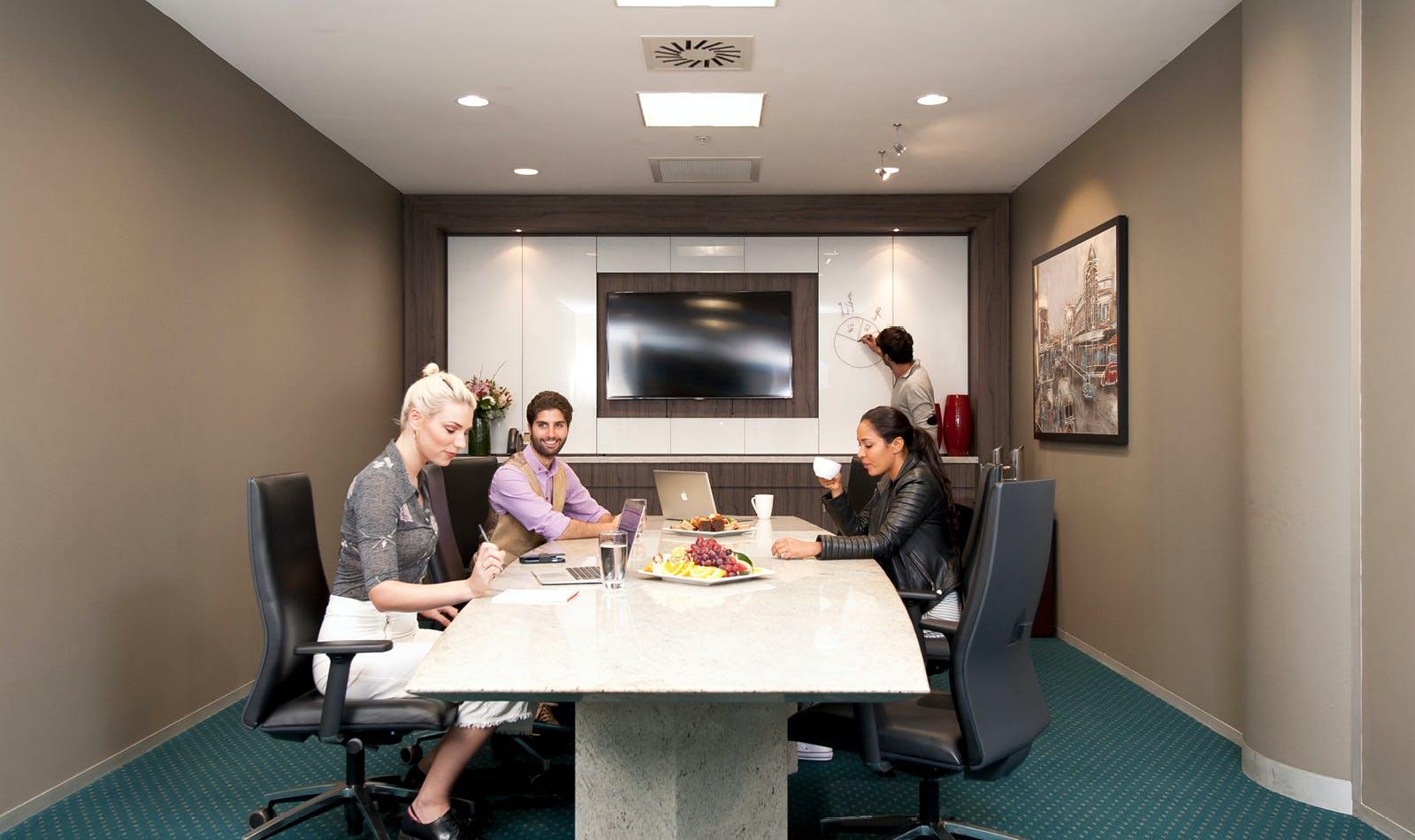 Premium Boardroom, meeting room at Deloitte Building, image 1