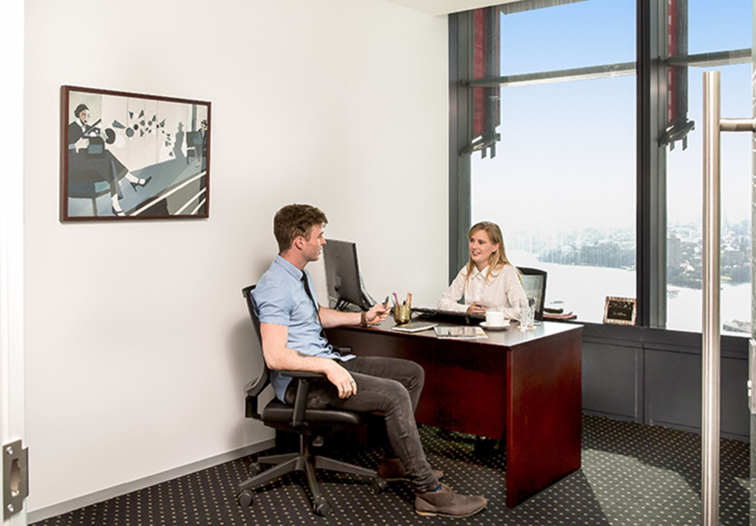 Day Suite 1, private office at Deloitte Building, image 1