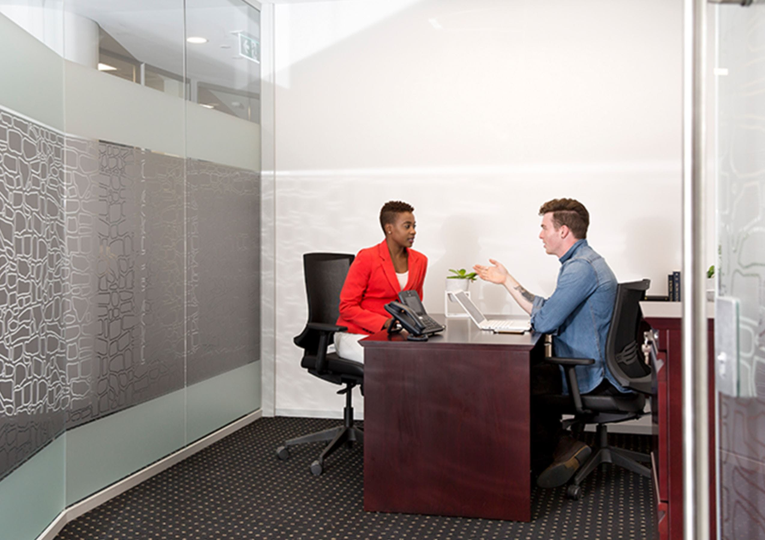 Day Suite 3, private office at Deloitte Building, image 1