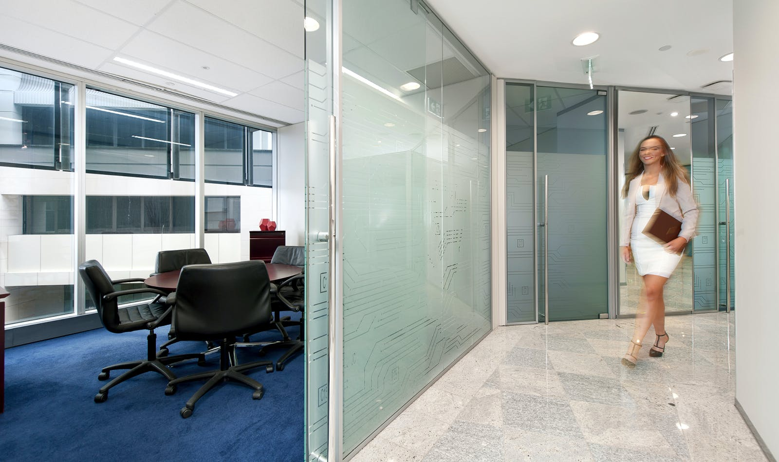 For 4, meeting room at Octagon Building, image 1