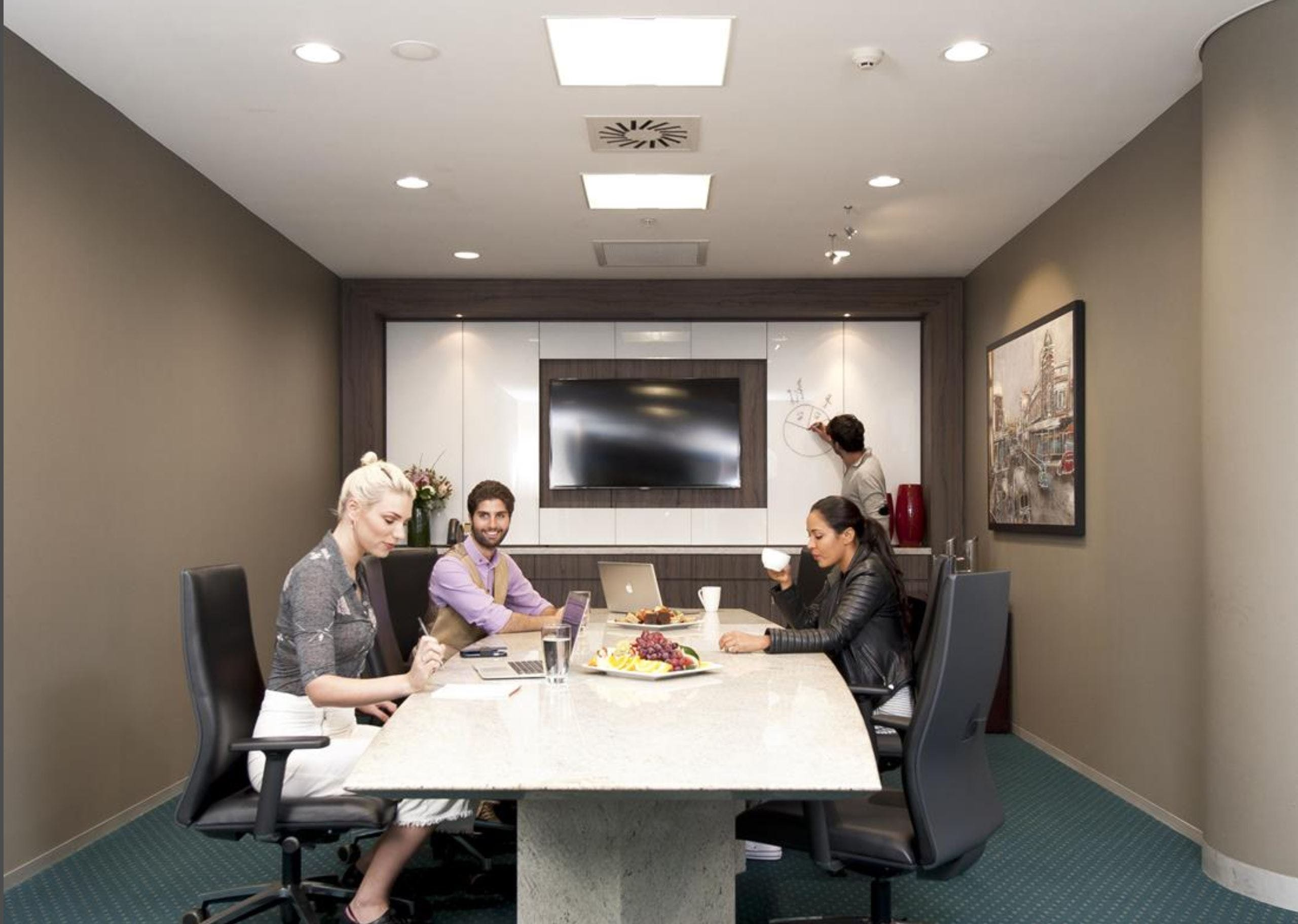Premium Boardroom, meeting room at Avaya House, image 1