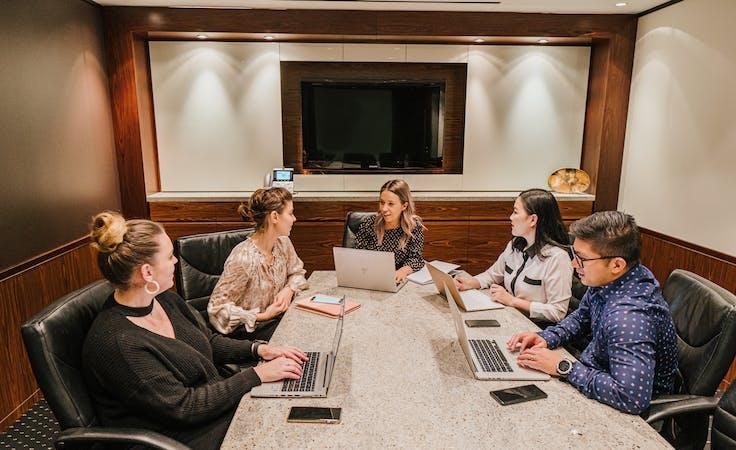 Premium Boardroom for 14, meeting room at Nexus Norwest, image 1