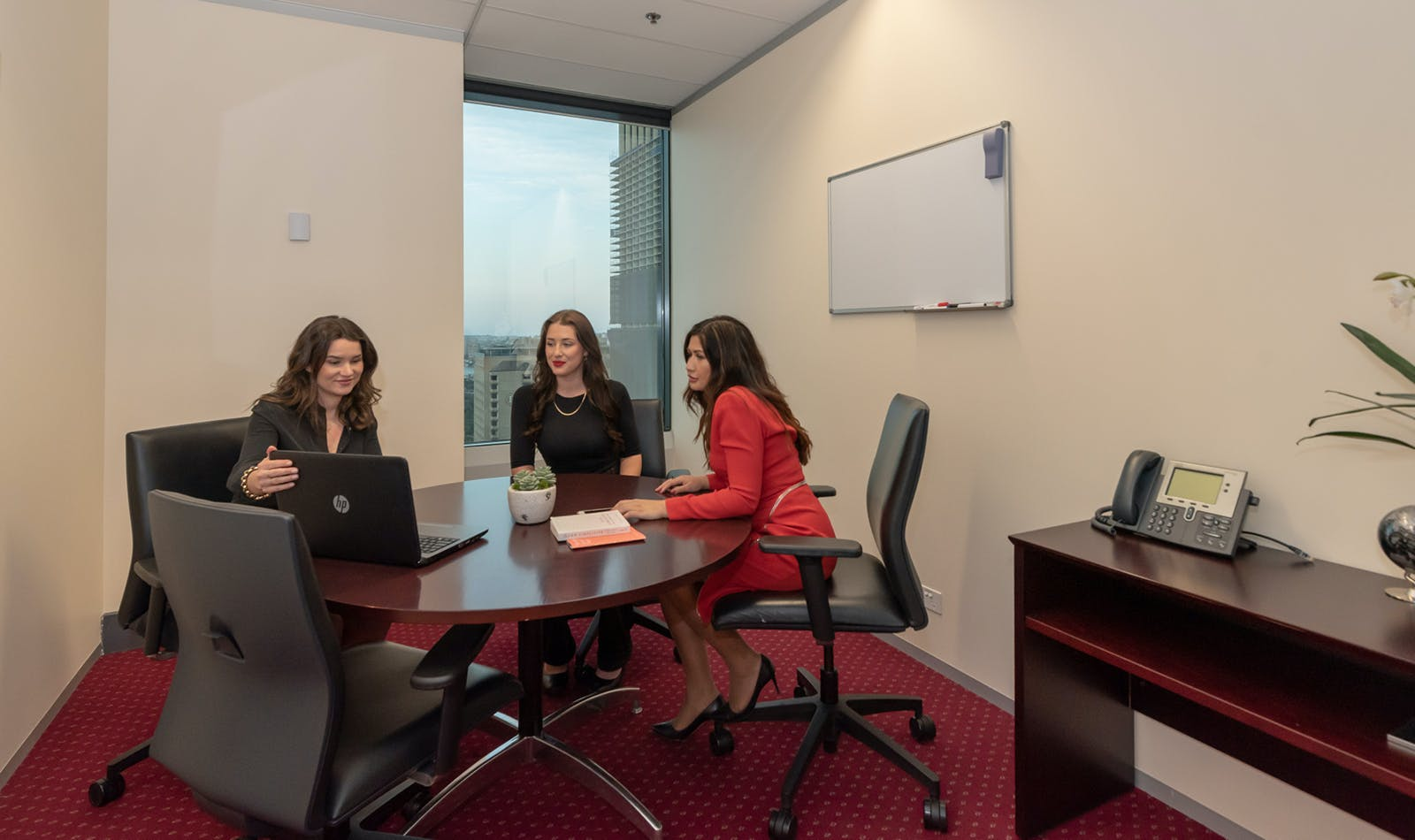 Coworking hot desk, hot desk at AMP Tower, image 6