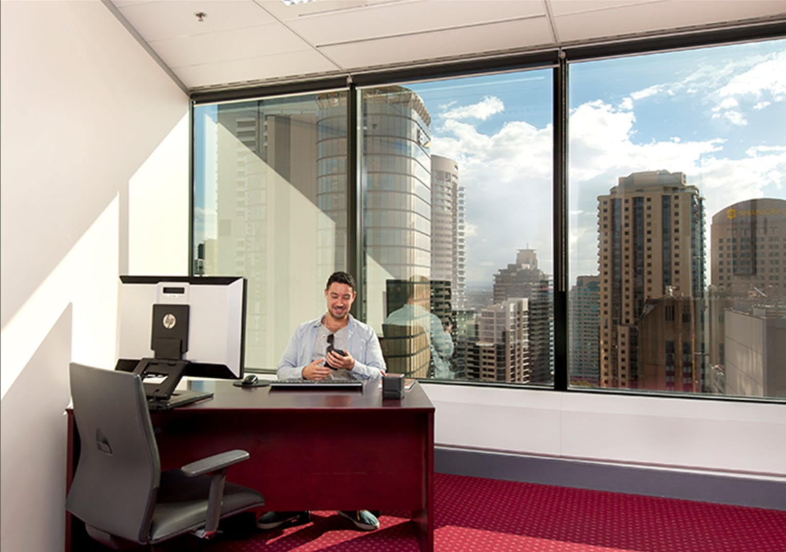 Premium Day Suite with views to inspire, private office at AMP Tower, image 1