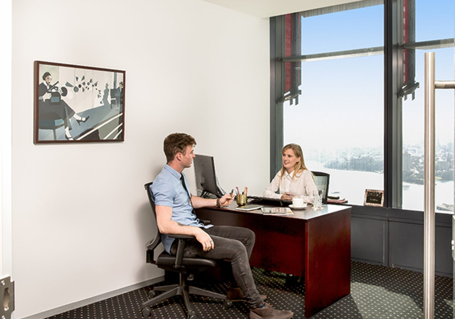 Premium Day Suite with Swan River views, private office at Brookfield Place, image 1