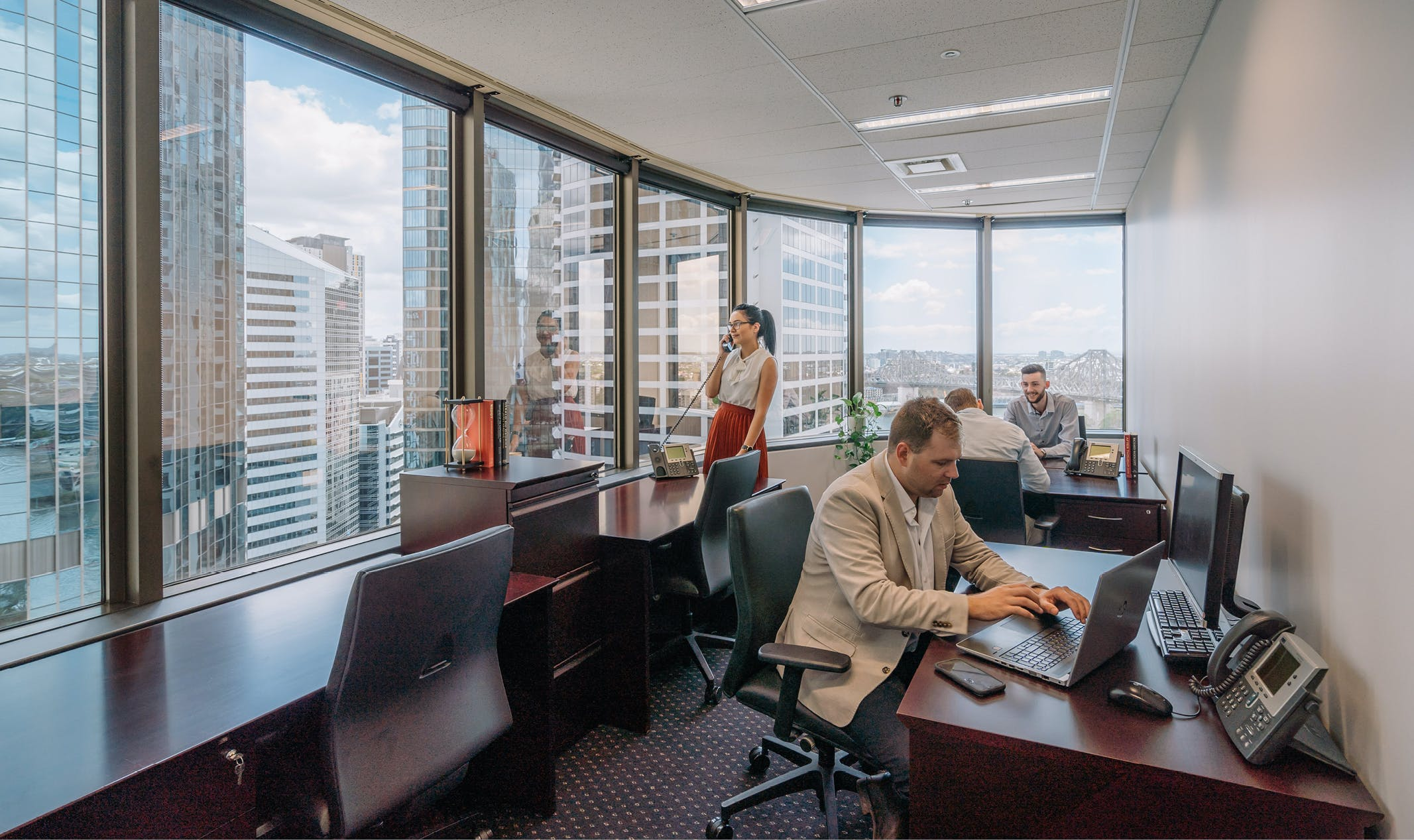 Premium Day Suite with Bridge Views, meeting room at 10 Eagle Street, image 1