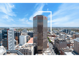 4-person collaborative workspace with outstanding views across Adelaide's skyline , serviced office at Westpac House, image 1