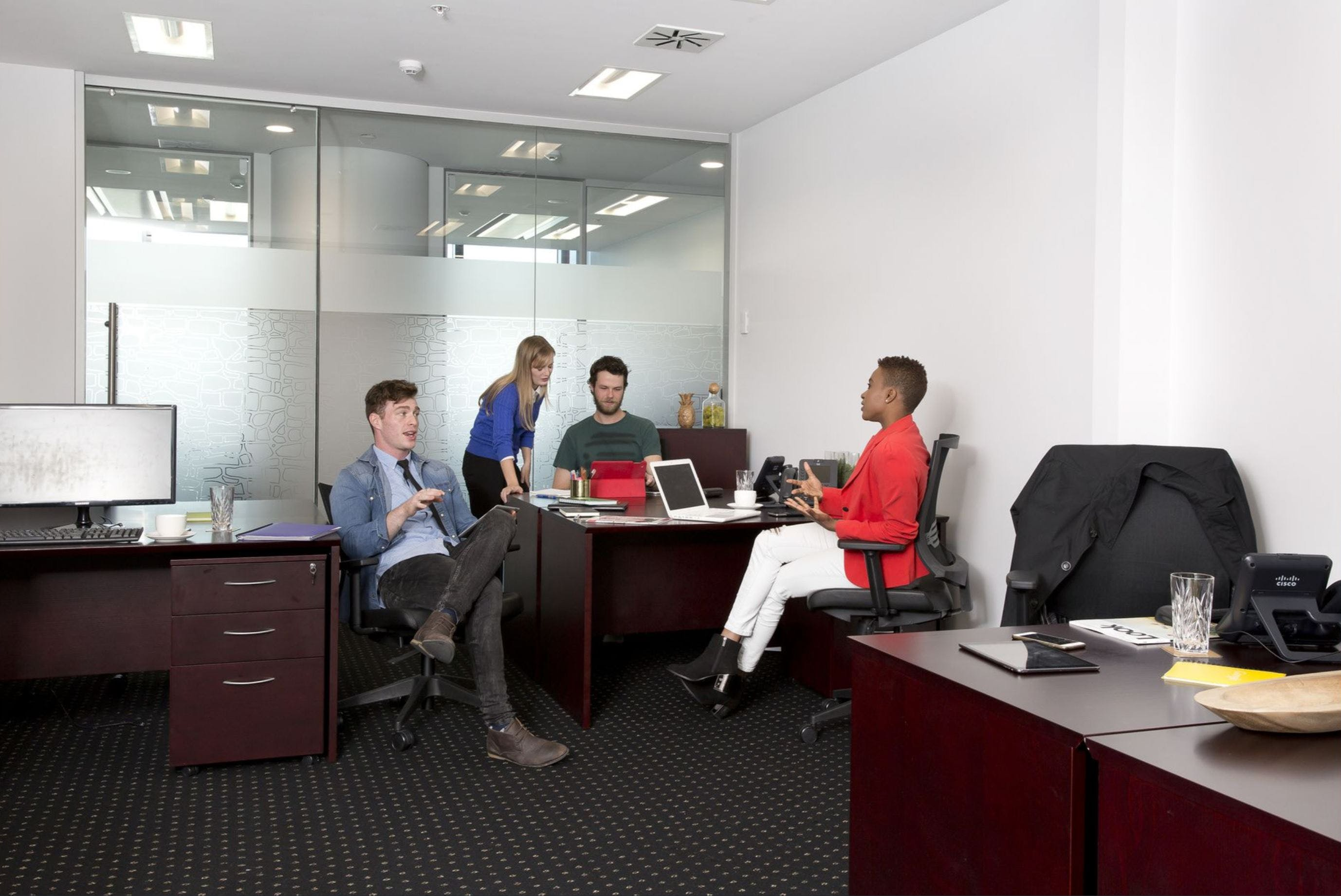 15 person , serviced office at 101 Collins Street, image 5