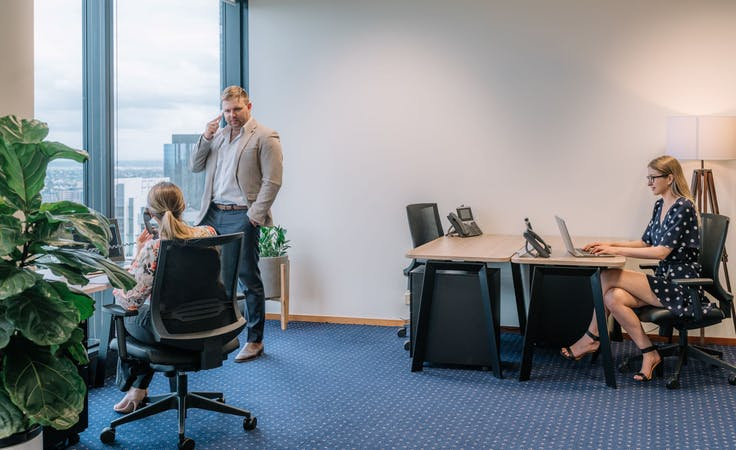 2-person office located in the heart of Brisbane's CBD, serviced office at Riparian Plaza, image 1