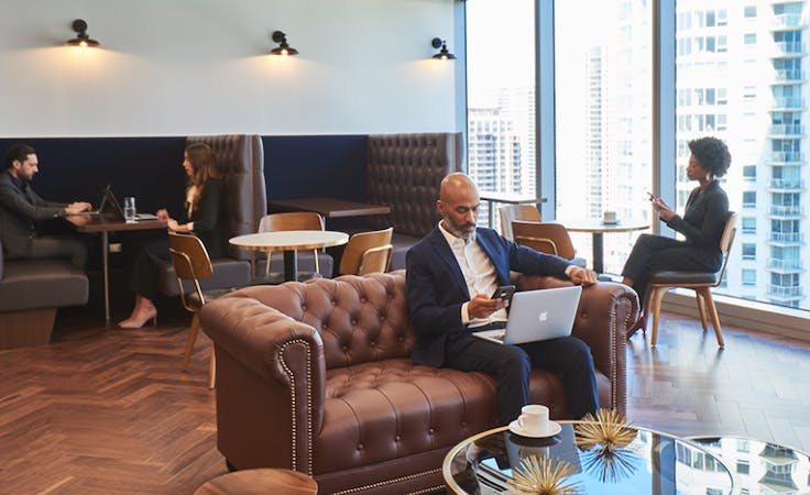 4-Person collaborative workspace located in the heart of Perth's CBD, serviced office at Brookfield Place, image 1