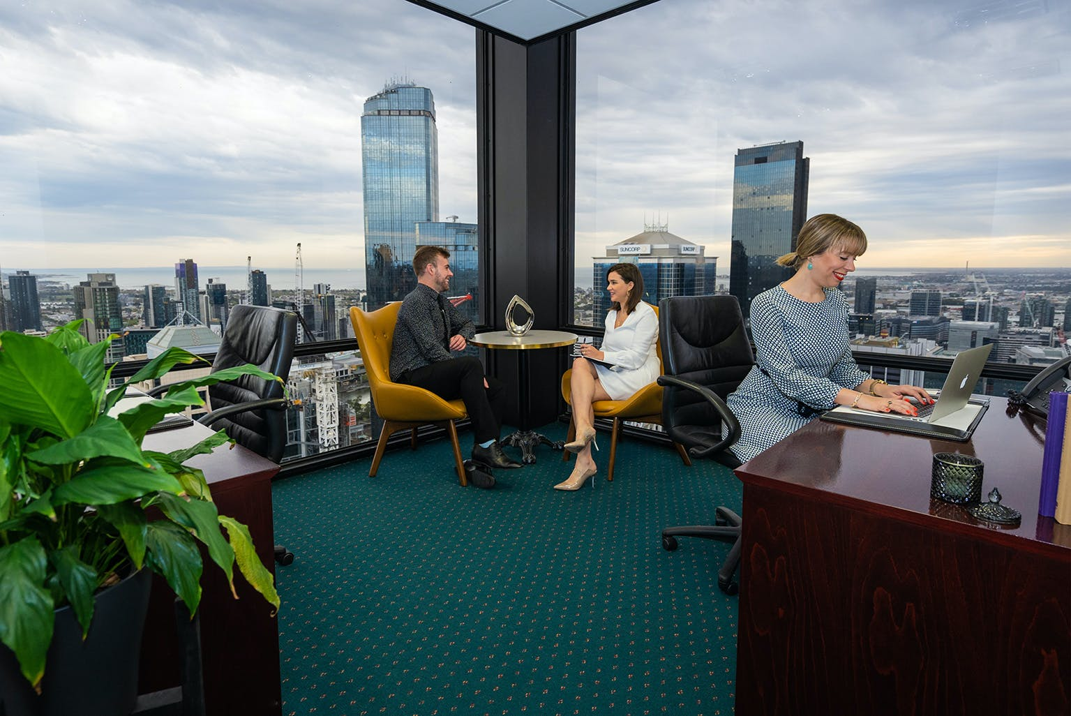A-grade fitted private workspace for 5, serviced office at 140 William Street, image 1