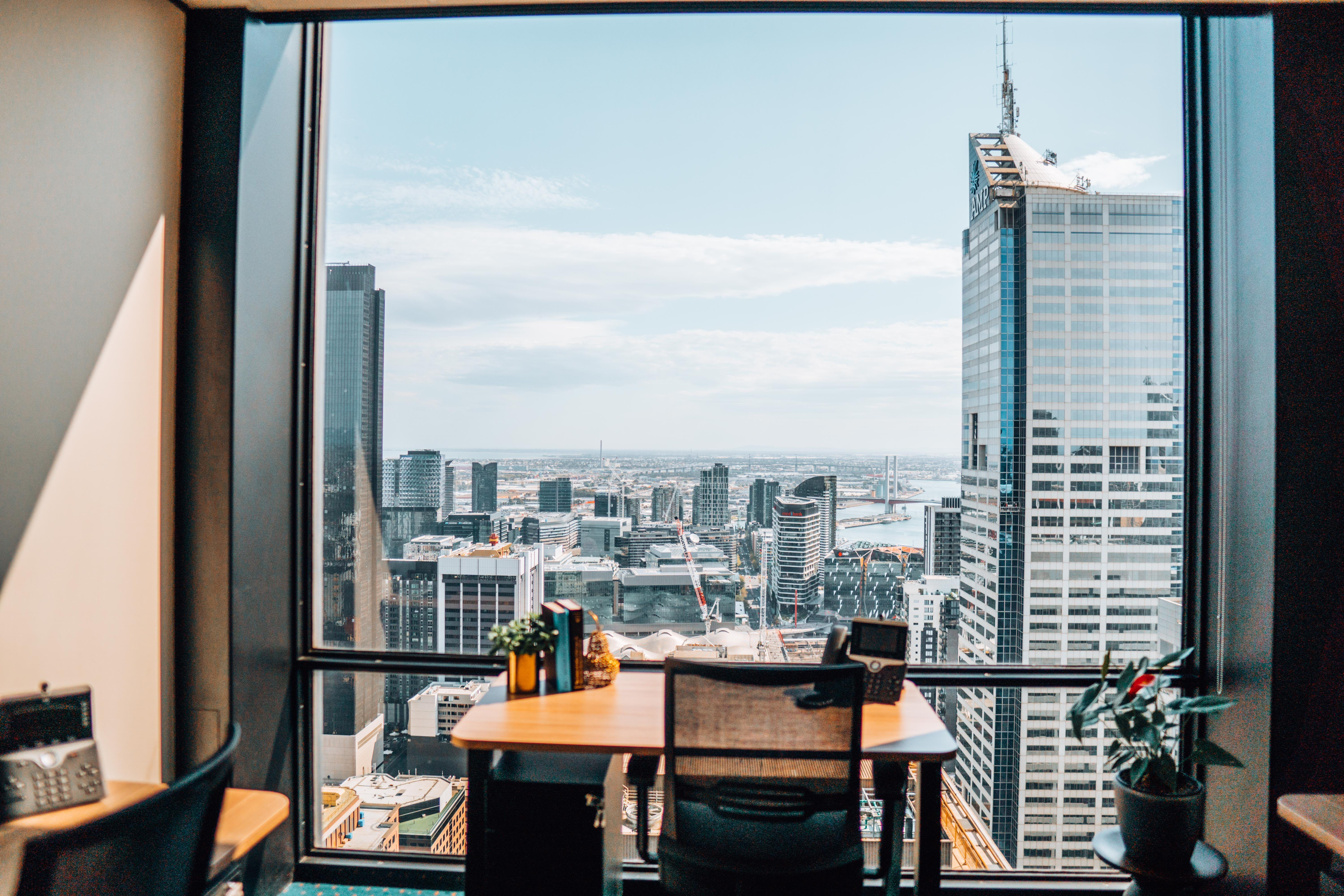 Modern 2-person with great views of Melbourne, serviced office at 140 William Street, image 1