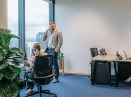 2-person private workspace located in the heart of Perth's CBD, serviced office at AMP Tower, image 1