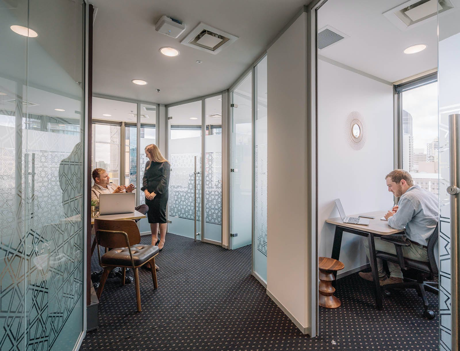 4-person Workspace with Brisbane CBD Views, serviced office at 10 Eagle Street, image 2