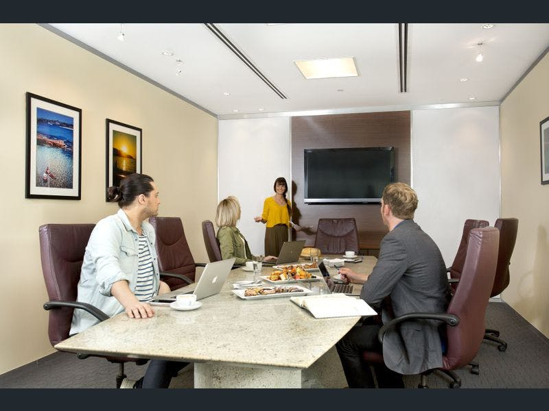 4-person Workspace with Brisbane CBD Views, serviced office at 10 Eagle Street, image 7