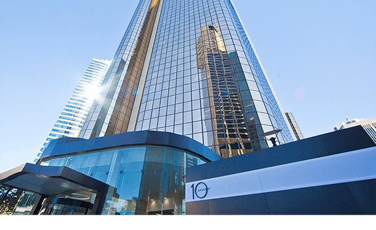 Collaborative 4-person workspace located in Brisbane CBD's Financial Precinct, serviced office at 10 Eagle Street, image 1
