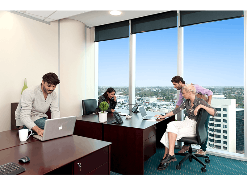 Collaborative Workspace for 2 People, serviced office at 10 Eagle Street, image 5