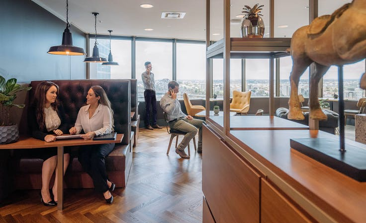 Collaborative Workspace for 2 People, serviced office at 10 Eagle Street, image 1