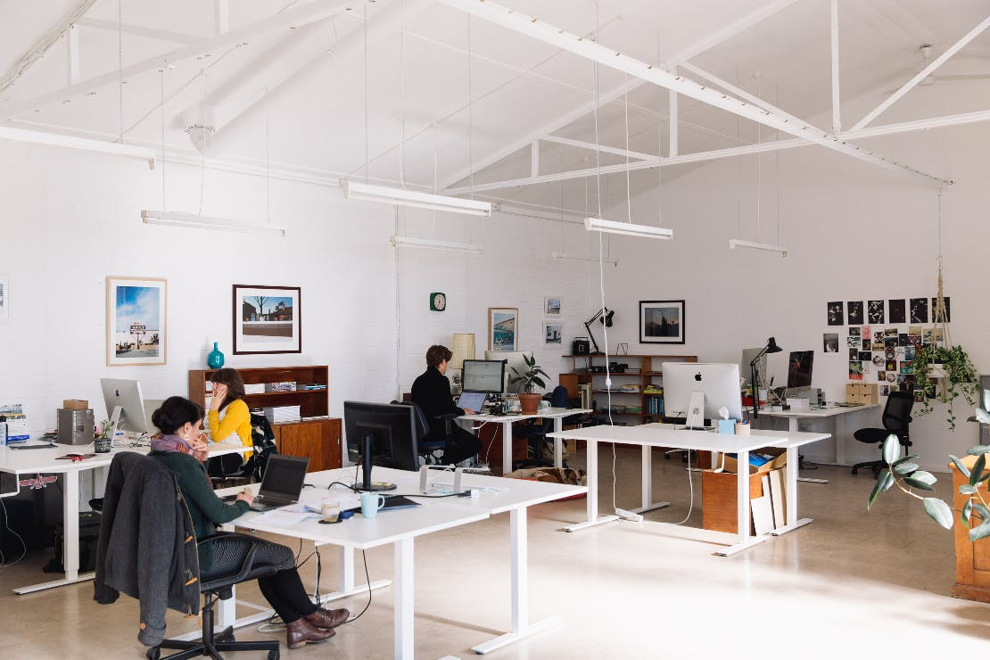 Dedicated desk in a work space shared by other creatives, image 1