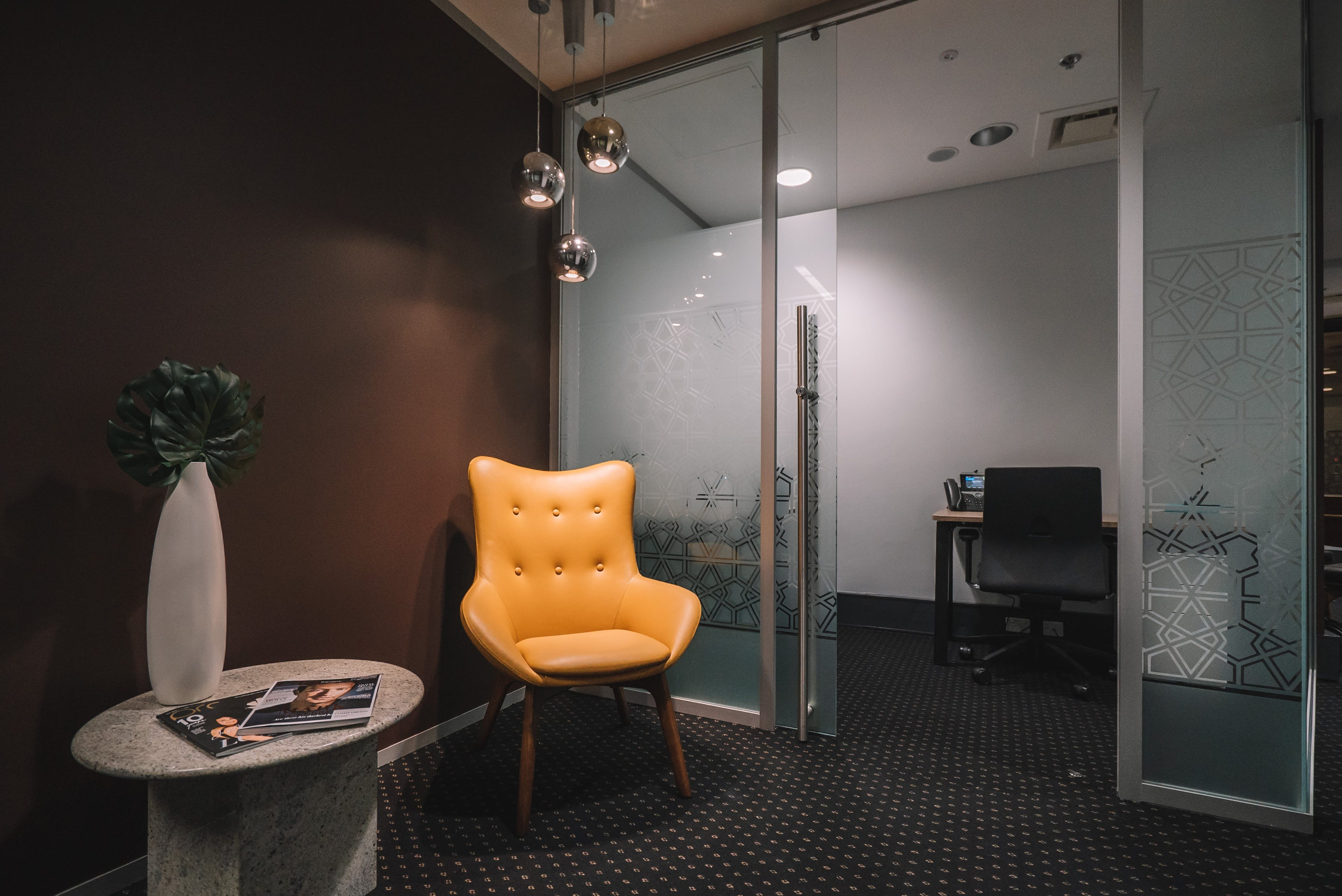 Furnished 2-person workspace , serviced office at The Realm, image 11
