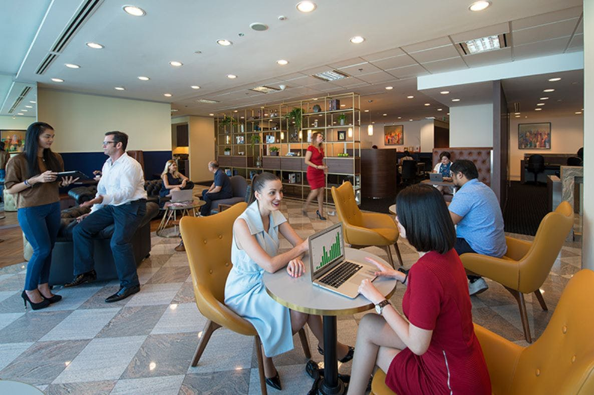 Collaborative workspace for 10, serviced office at Nishi, image 4