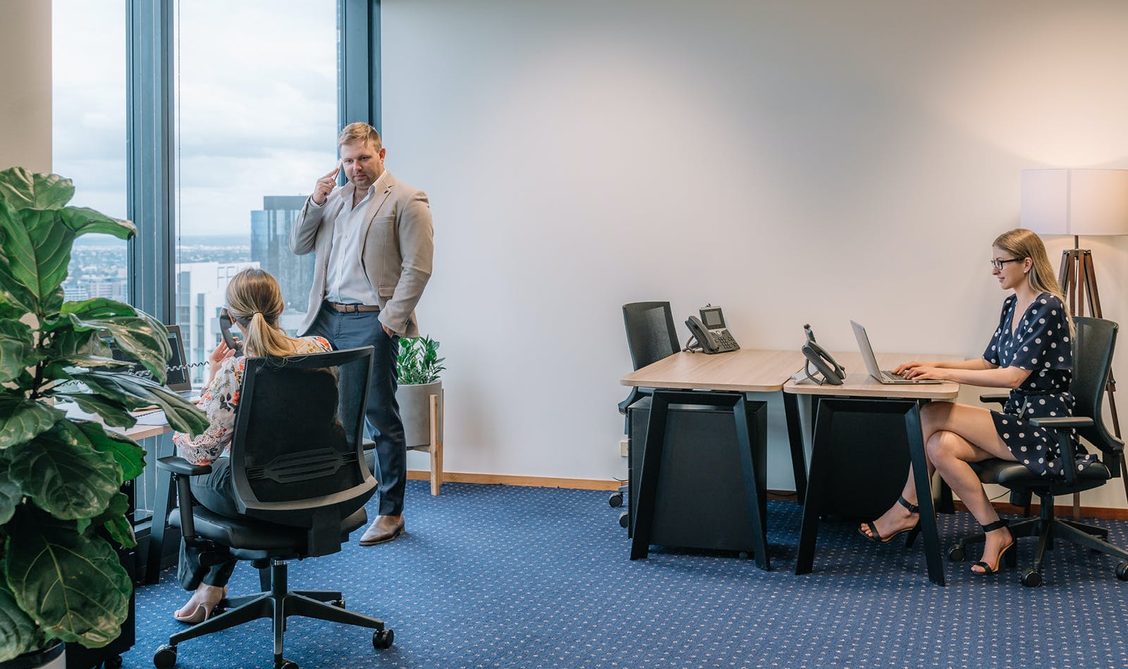 Modern 8-person private workspace in the heart of North Sydney, serviced office at Miller Street, image 1