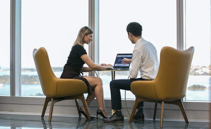 Executive 4-person private workspace, serviced office at Chifley Tower, image 1