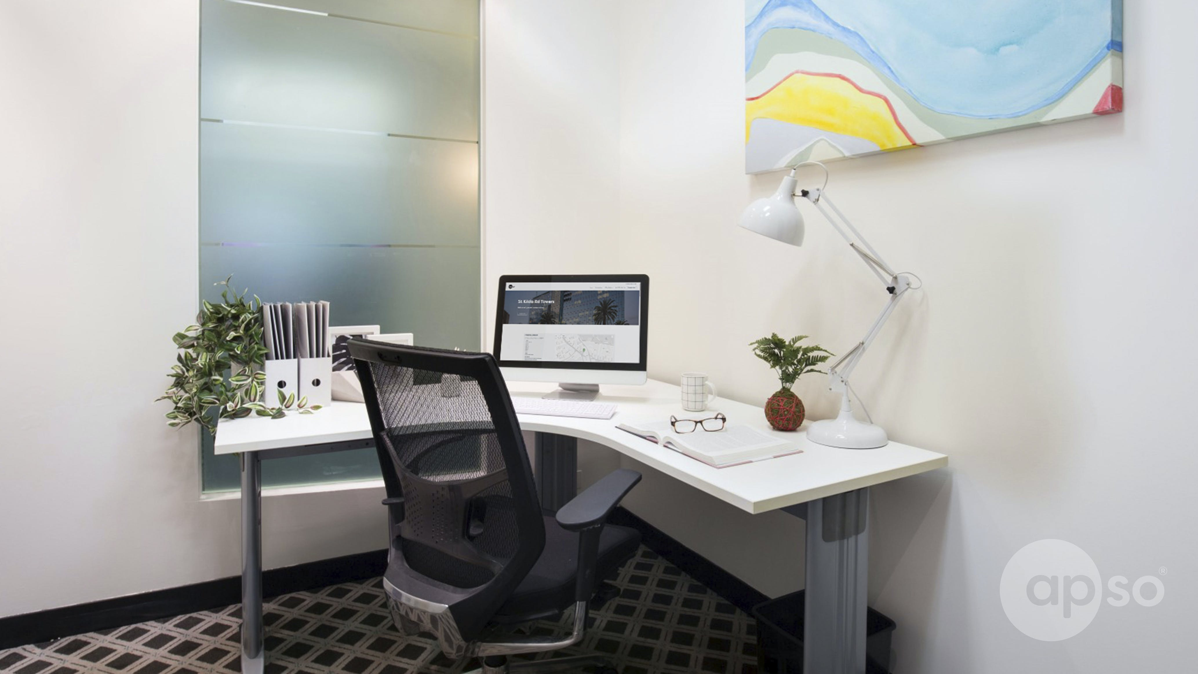Suite 118d, private office at St Kilda Rd Towers, image 1