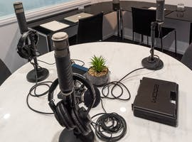 Podcasting Room, creative studio at Podcast Studio, image 1