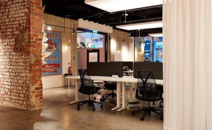 Atrium Suites: plant filled private office at Revolver Lane, image 6