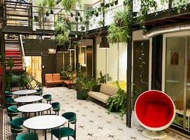 Atrium Suites: plant filled private office at Revolver Lane, image 1