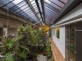 Atrium Suites: plant filled private office at Revolver Lane, image 1