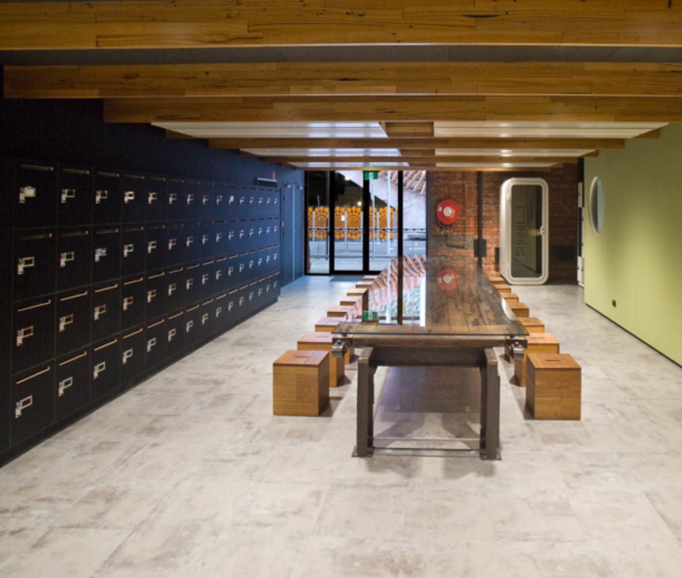 The Kitchen, multi-use area at Stone & Chalk, image 3