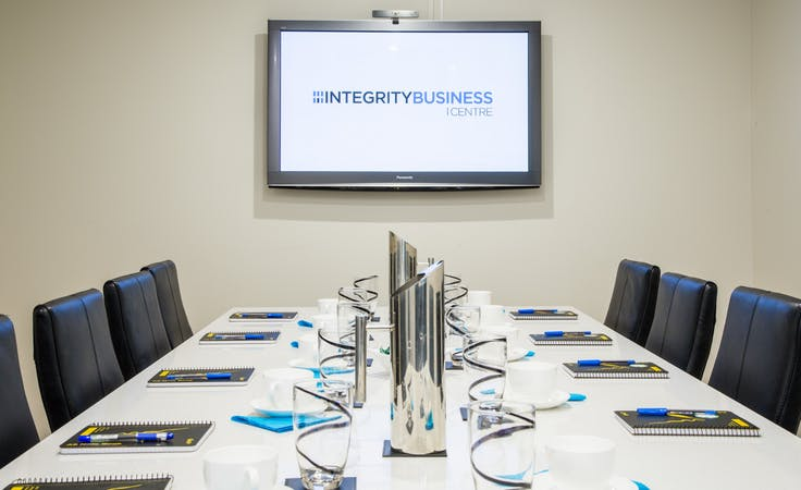 Boardroom, meeting room at Integrity Business Centre, image 1