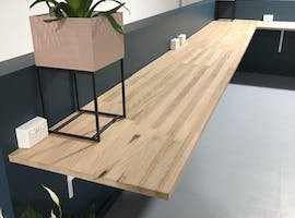 Permanent M-F Common Desk, dedicated desk at Bridge Coworking Meeting and Event Space Geelong, image 1
