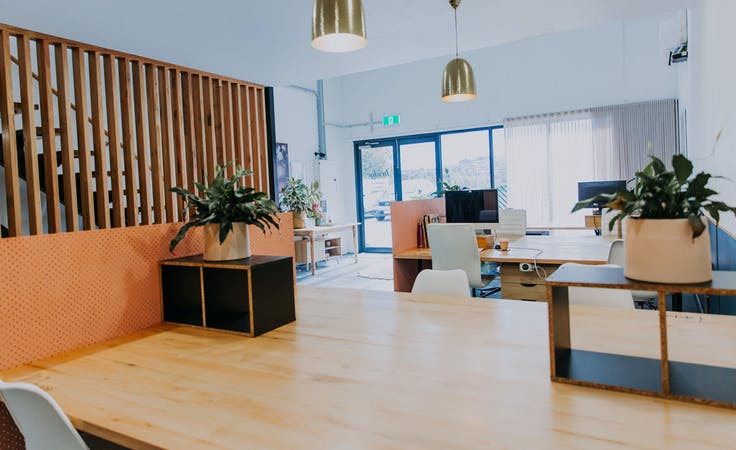 Casual Hot Desk Half Day 8.30-1, hot desk at Bridge Coworking Meeting and Event Space Geelong, image 1