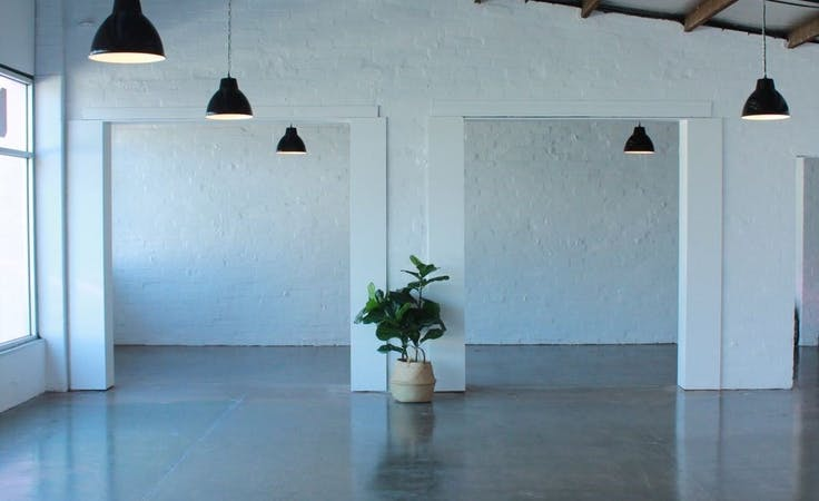 This converted garage is now a thriving event space, image 1