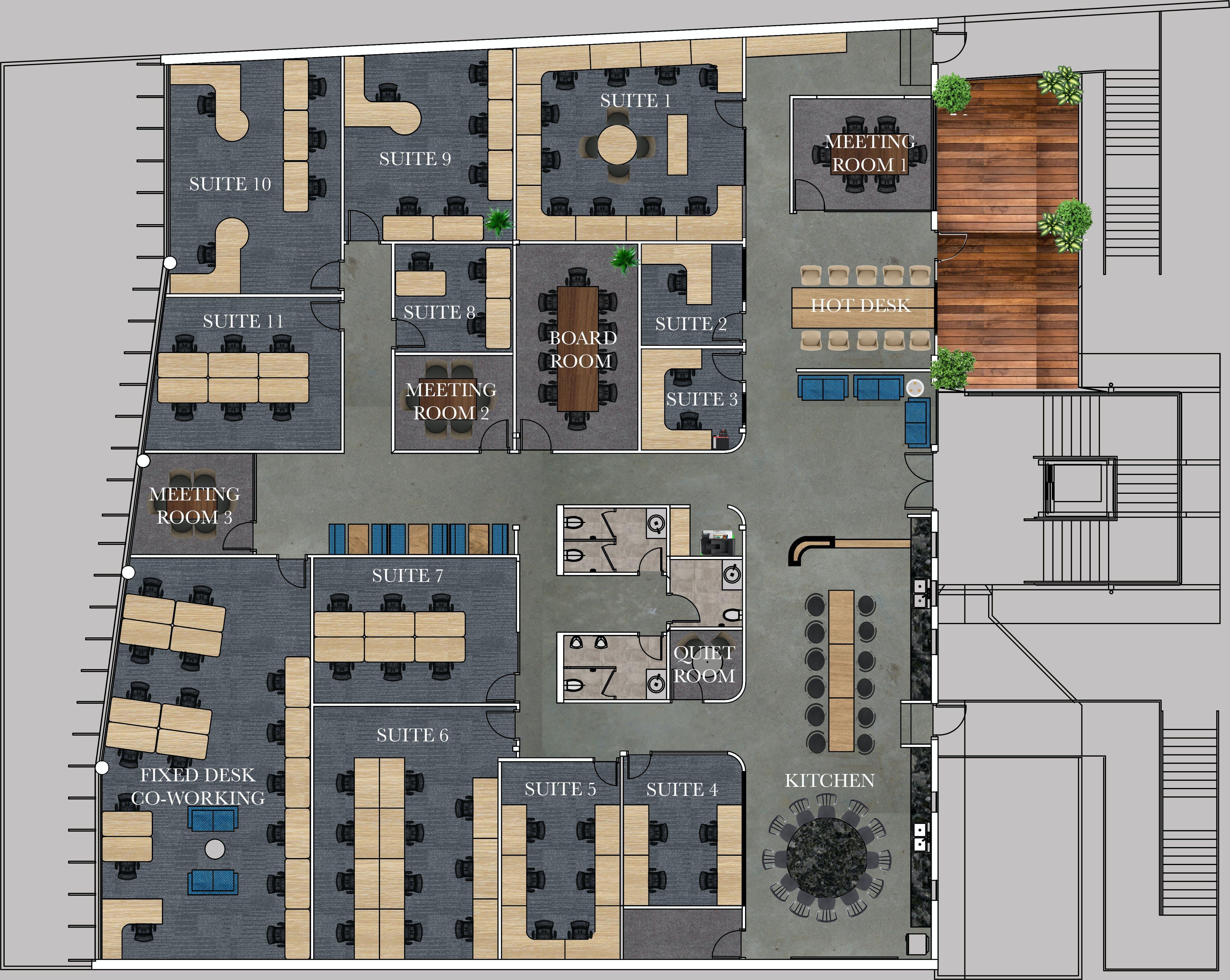 Firm Habitat, shared office at Firm Habitat Ocean St Maroochydore, image 1