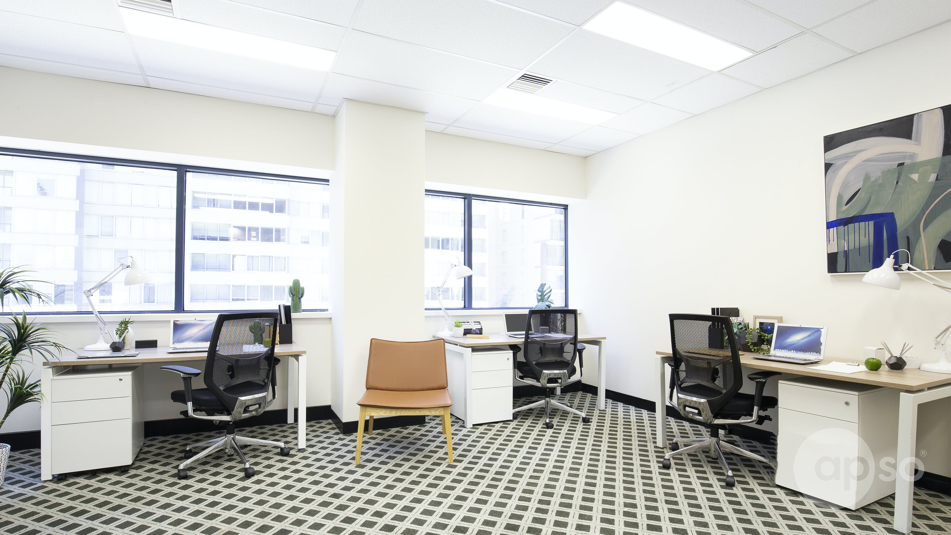 Suite 620, private office at St Kilda Rd Towers, image 2
