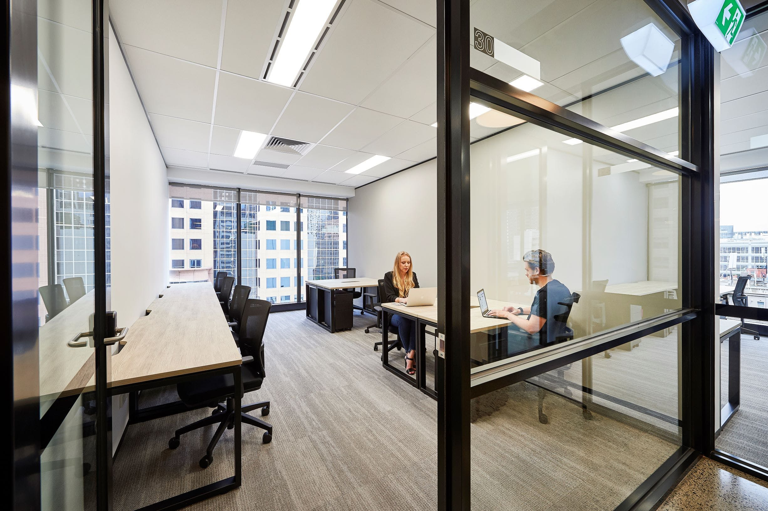 575 Bourke Street, private office at Altitude CoWork, image 2