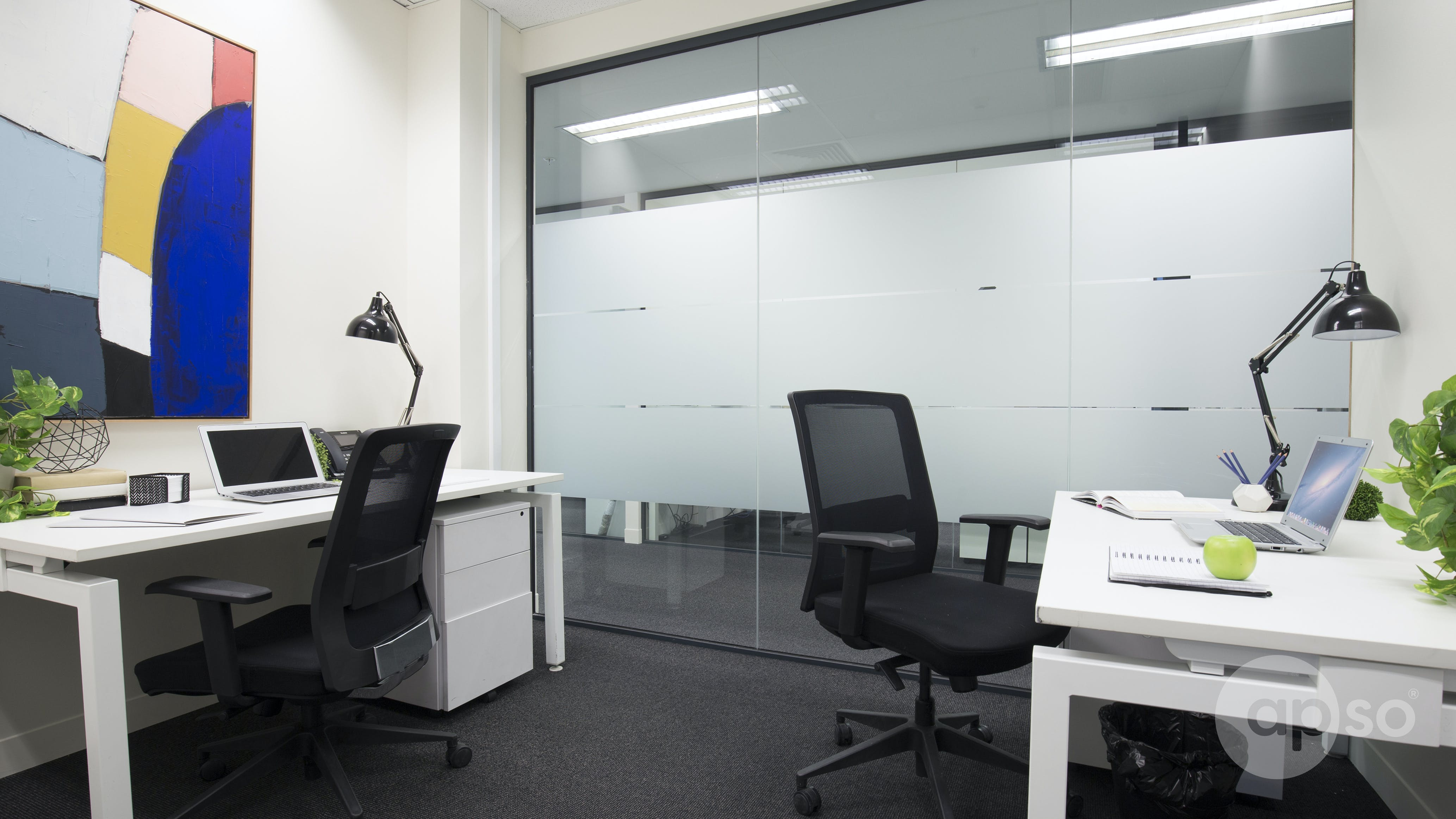 Suite 110j, private office at Corporate One, image 1
