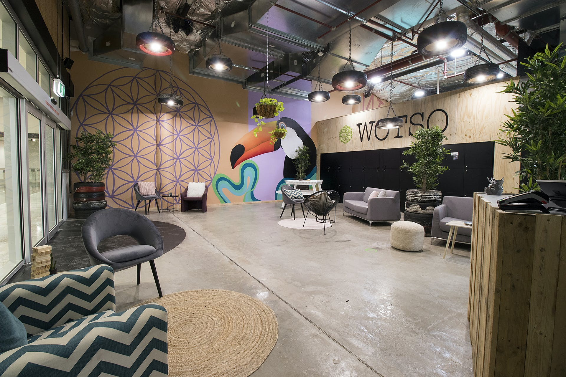 Amphitheatre, multi-use area at WOTSO WorkSpace Brisbane - Chermside, image 6