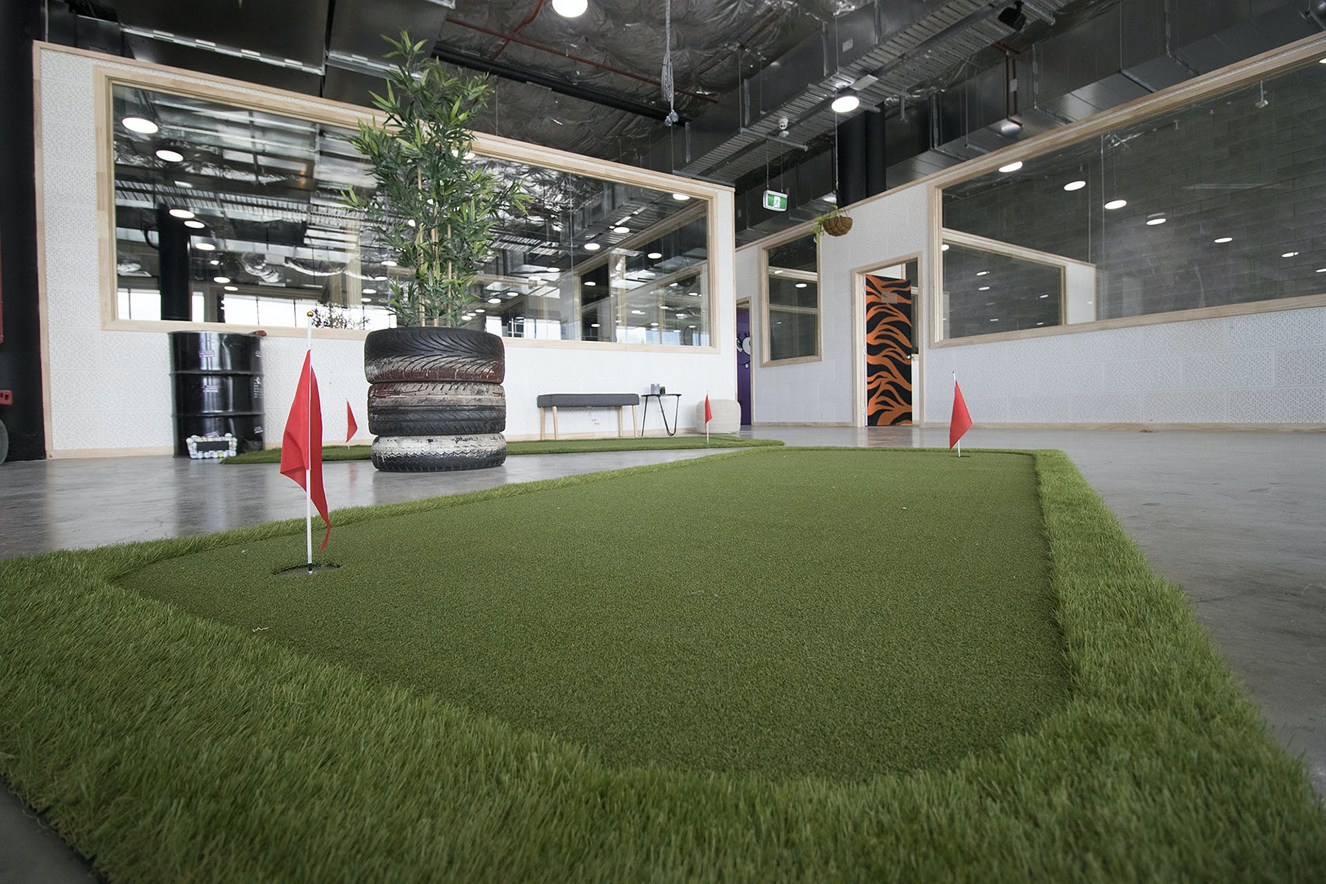 Amphitheatre, multi-use area at WOTSO WorkSpace Brisbane - Chermside, image 5