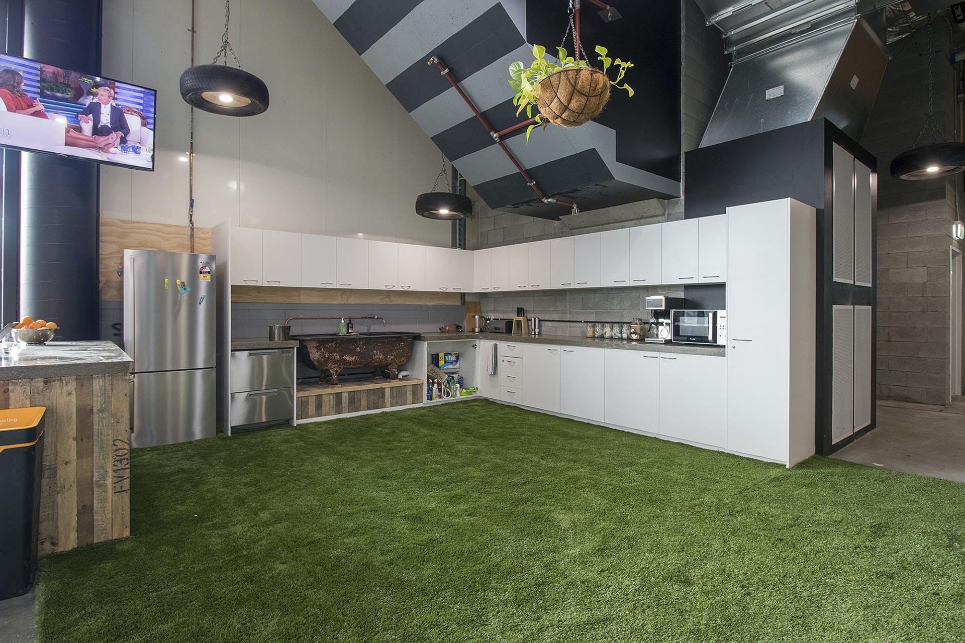 Amphitheatre, multi-use area at WOTSO WorkSpace Brisbane - Chermside, image 3