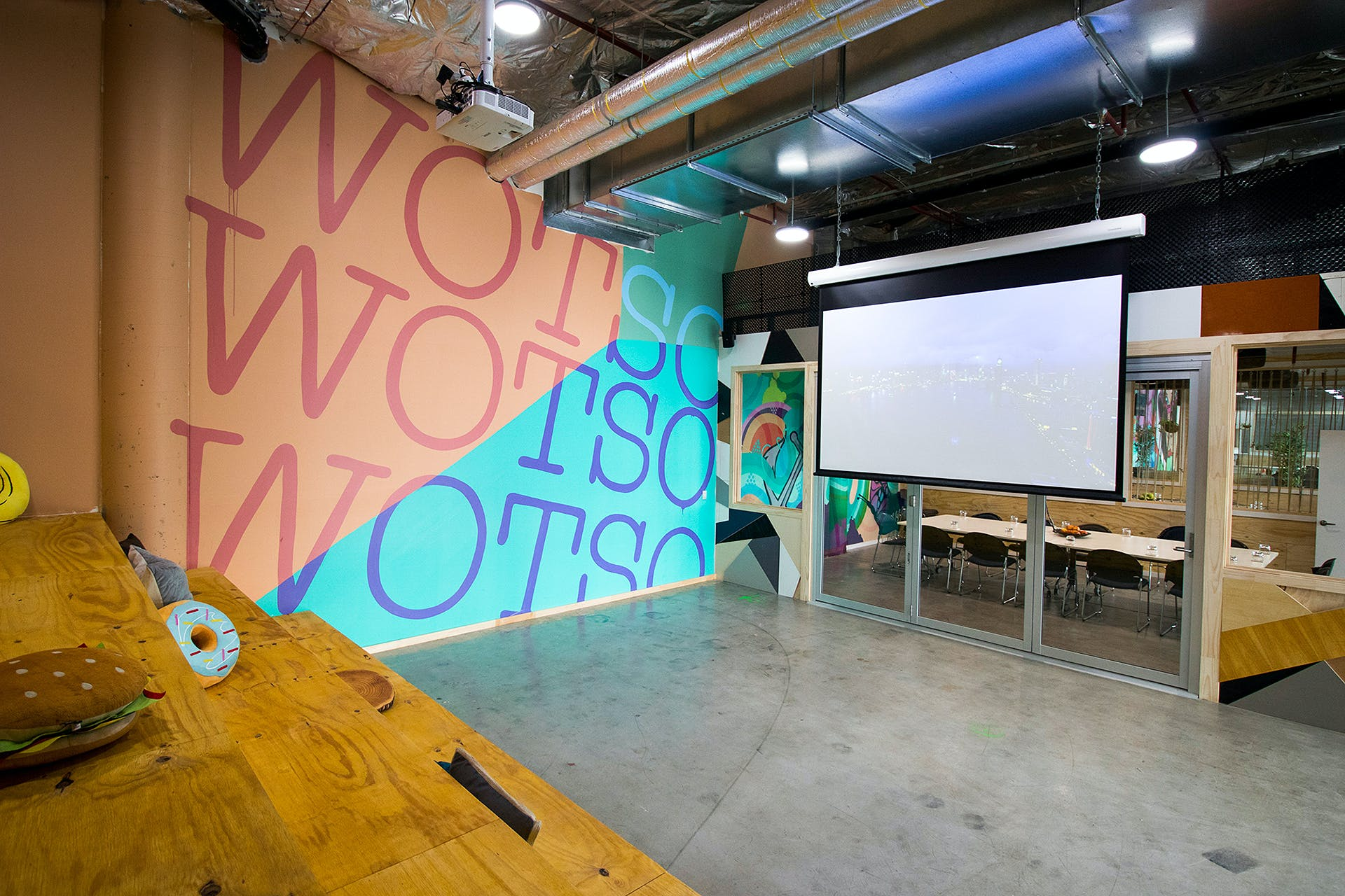 Amphitheatre, multi-use area at WOTSO WorkSpace Brisbane - Chermside, image 1