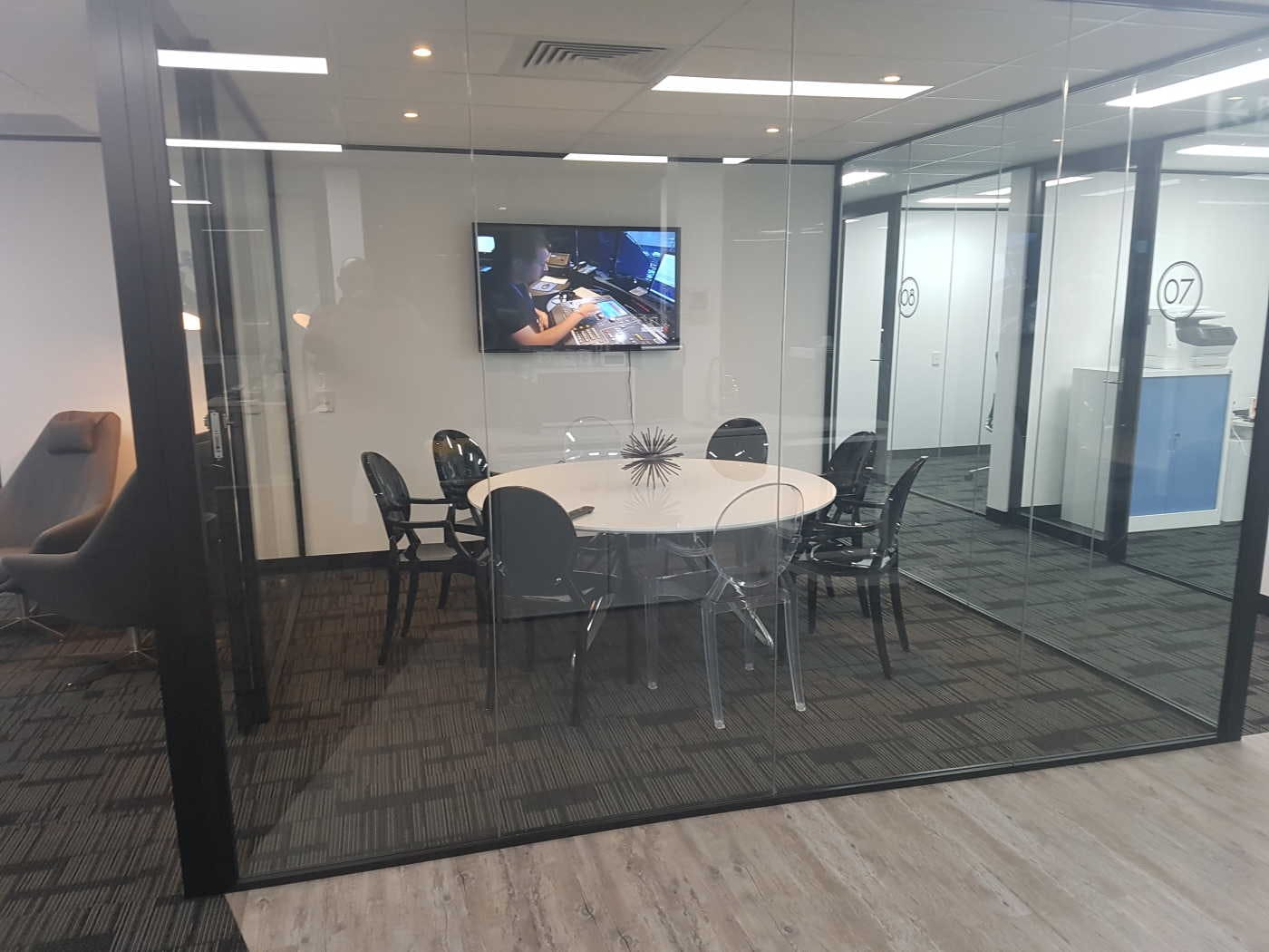 Boardroom, function room at Anytime Offices Botany, image 5