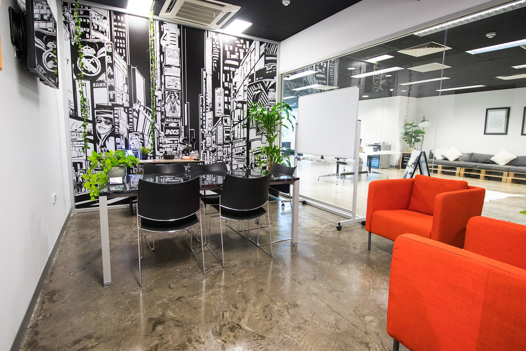 Times Square, meeting room at WOTSO WorkSpace Gold Coast, image 1