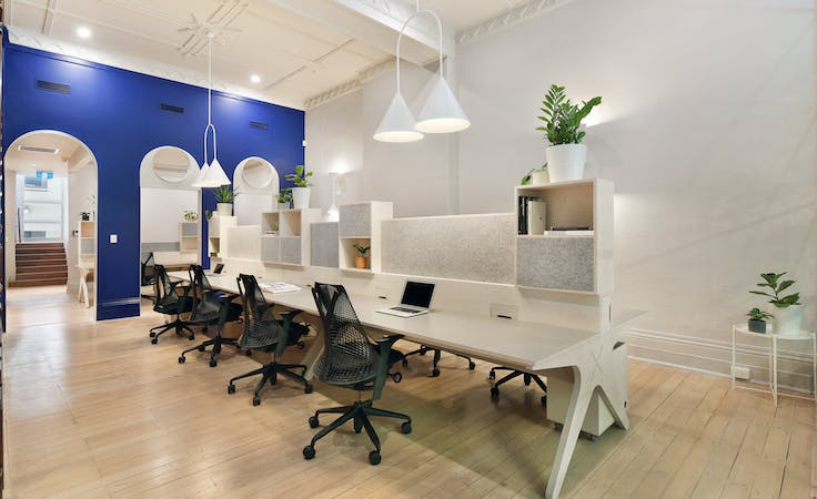 This office space in the city has been newly refurbished, image 1