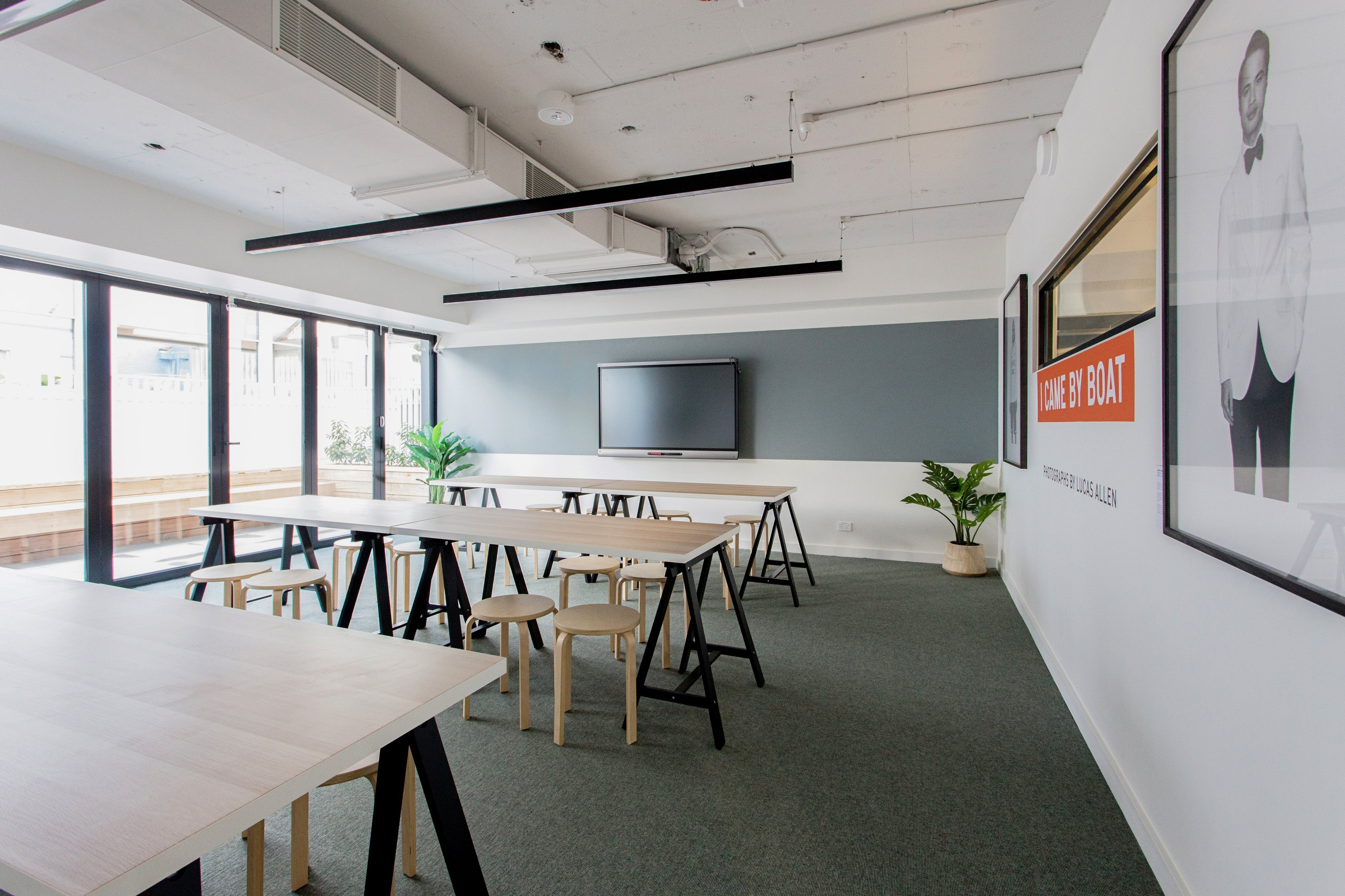 The Learning Hub, training room at Carman's Space, image 1