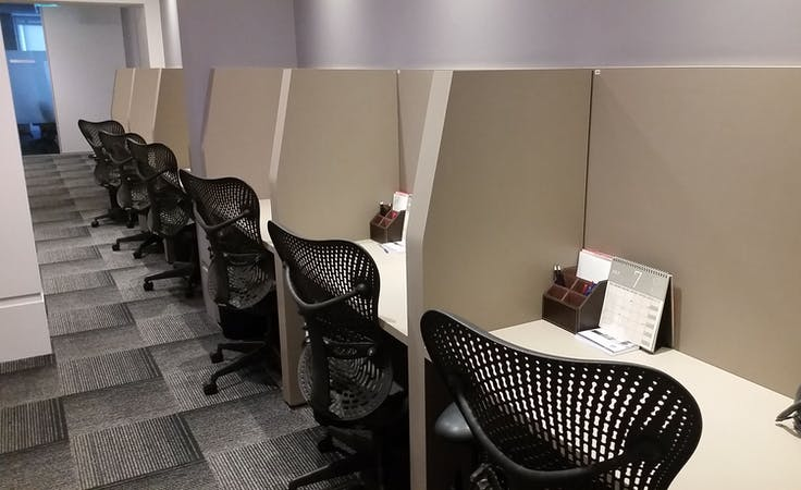 Hot desk at Aurora Place, image 1